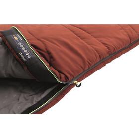 Outwell Contour Sleeping Bag Ochre Red